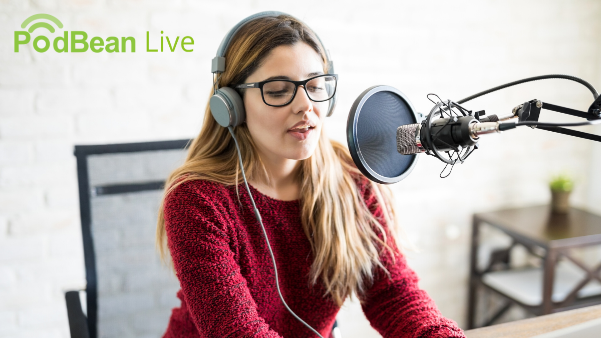Podbean Audio Live Streaming and Remote Podcast Recording